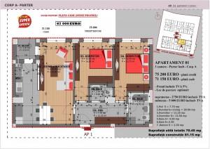 Anghel Moldoveanu 61 - Corp A - Apartament 01