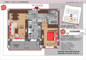 Anghel Moldoveanu 61 - Corp A - Apartament 30