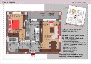 Anghel Moldoveanu 61 - Corp B - Apartament 07