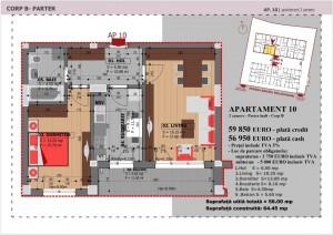 Anghel Moldoveanu 61 - Corp B - Apartament 10