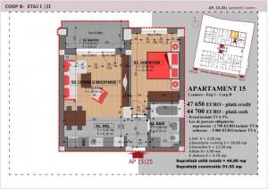 Anghel Moldoveanu 61 - Corp B - Apartament 15