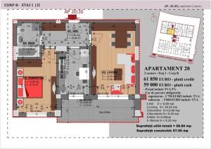 Anghel Moldoveanu 61 - Corp B - Apartament 20