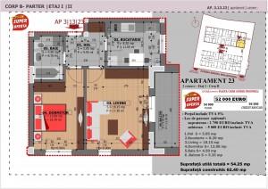 Anghel Moldoveanu 61 - Corp B - Apartament 23