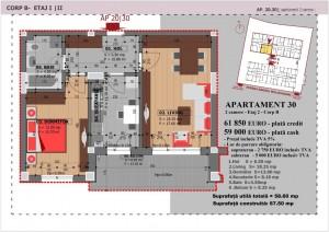 Anghel Moldoveanu 61 - Corp B - Apartament 30