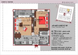 Anghel Moldoveanu 61 - Corp B - Apartament 05