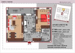 Anghel Moldoveanu 61 - Corp B - Apartament 06