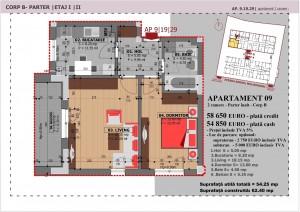Anghel Moldoveanu 61 - Corp B - Apartament 09
