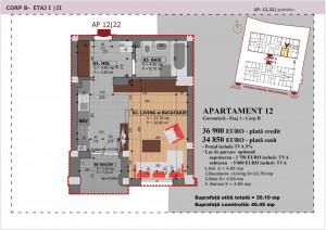 Anghel Moldoveanu 61 - Corp B - Apartament 12