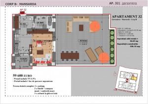 Anghel Moldoveanu 61 - Corp B - Apartament 32