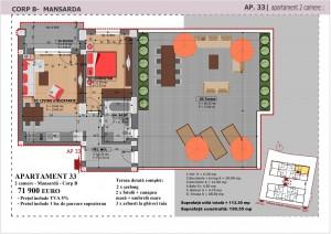 Anghel Moldoveanu 61 - Corp B - Apartament 33