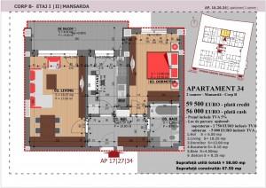 Anghel Moldoveanu 61 - Corp B - Apartament 34