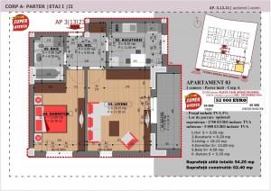 Anghel Moldoveanu 61 - Corp A - Apartament 03
