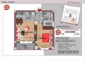 Anghel Moldoveanu 61 - Corp A - Apartament 04