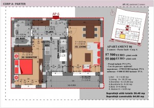 Anghel Moldoveanu 61 - Corp A - Apartament 06