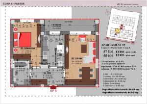 Anghel Moldoveanu 61 - Corp A - Apartament 09