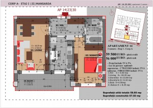 Anghel Moldoveanu 61 - Corp A - Apartament 14