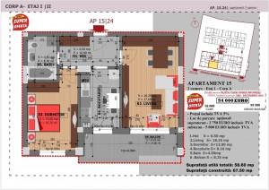 Anghel Moldoveanu 61 - Corp A - Apartament 15