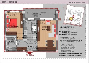 Anghel Moldoveanu 61 - Corp A - Apartament 18