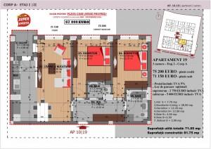 Anghel Moldoveanu 61 - Corp A - Apartament 19