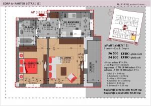Anghel Moldoveanu 61 - Corp A - Apartament 21