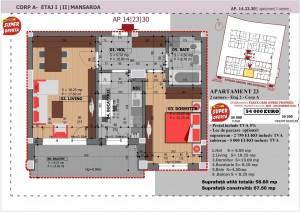 Anghel Moldoveanu 61 - Corp A - Apartament 23