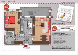Anghel Moldoveanu 61 - Corp A - Apartament 27